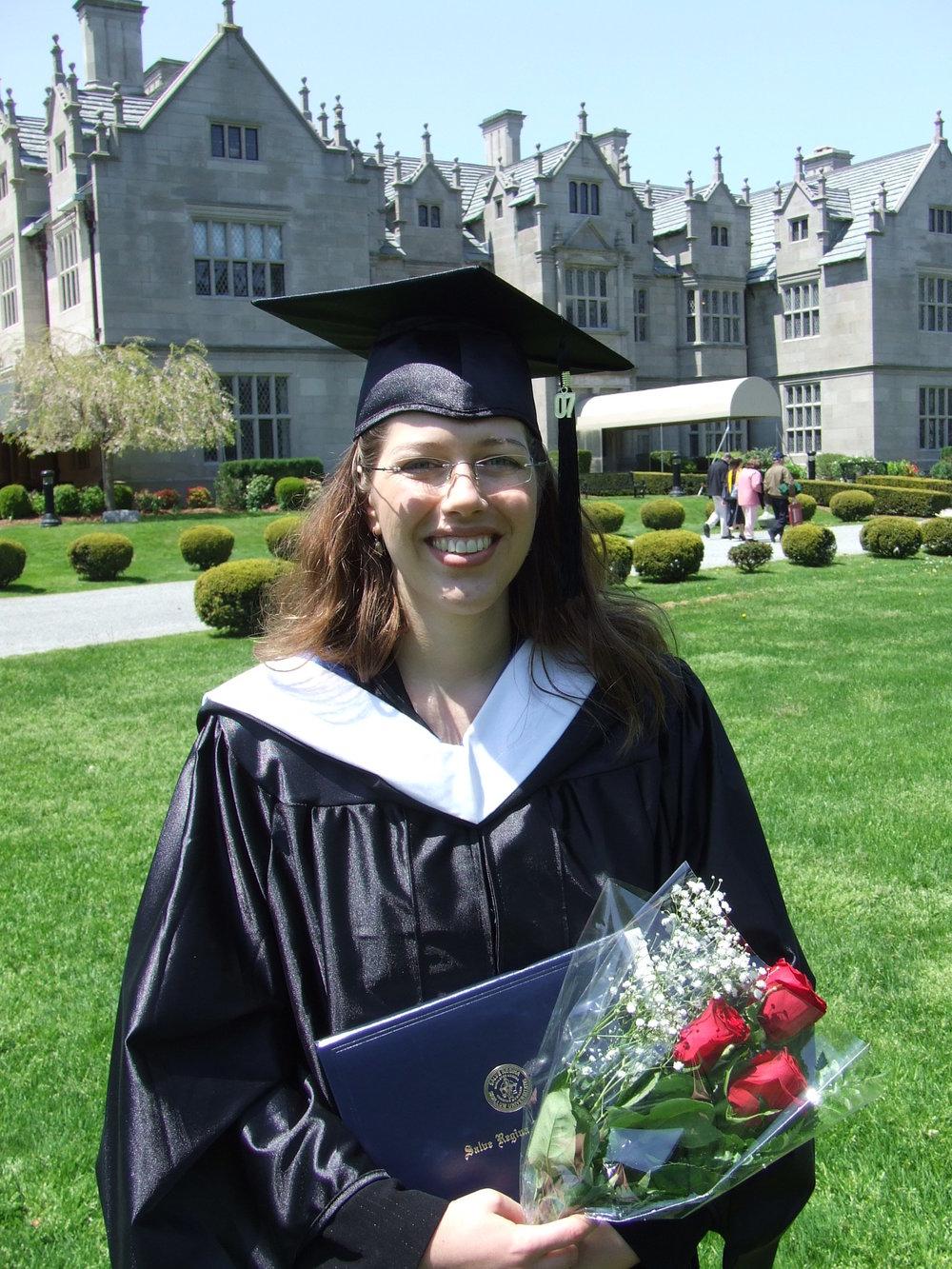 "Master of Arts in ""Holistic Counseling"", Salve Regina University, Newport, 2007"