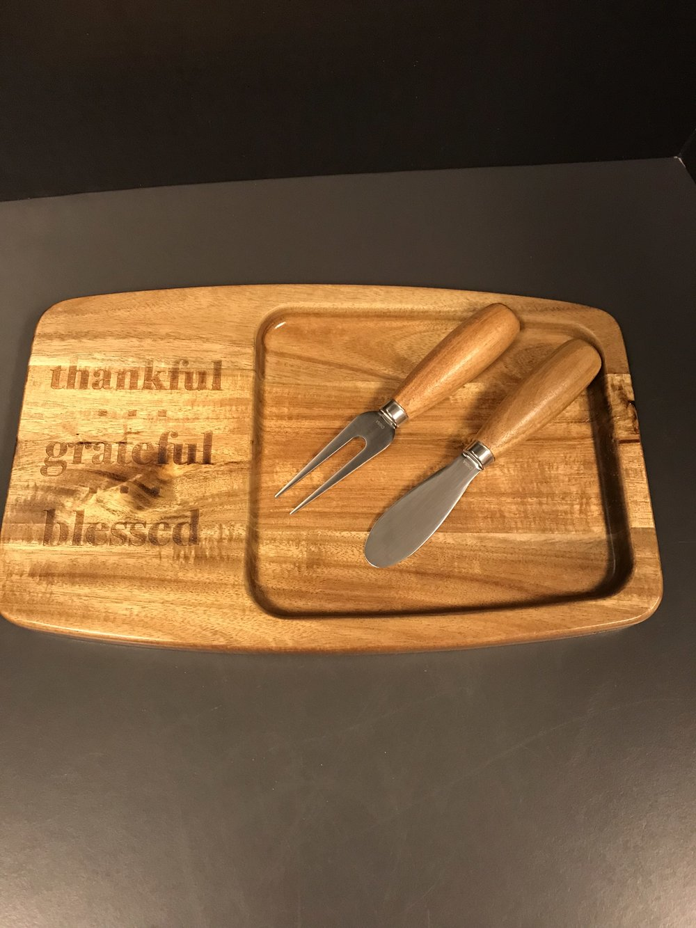 Pampered Chef Cheese Platter Gift Set - Value $35