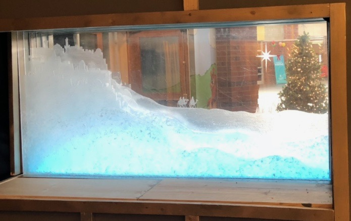 Nativity, Original artwork by Pastor Michael Grove - value $550