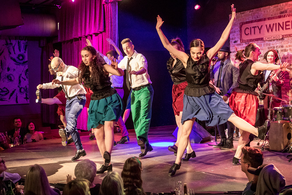 """The Chicago Tap Theatre performs in """"Sweet Tap Chicago"""" at City Winery Chicago on Sunday, Mar. 11, 2018."""