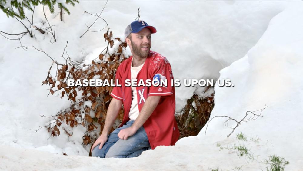 Baseball Season  Client: Texas Rangers