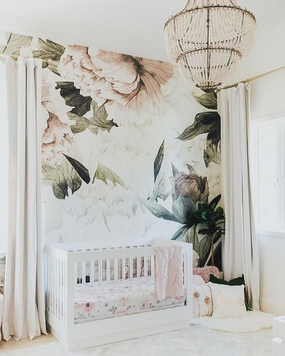 Wall Mural, Design by  Little Crown Interiors