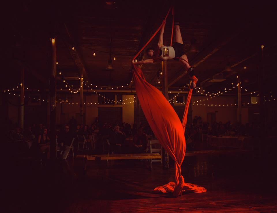 Aerial Silks Creation and Choreography - with Lynne Sargent