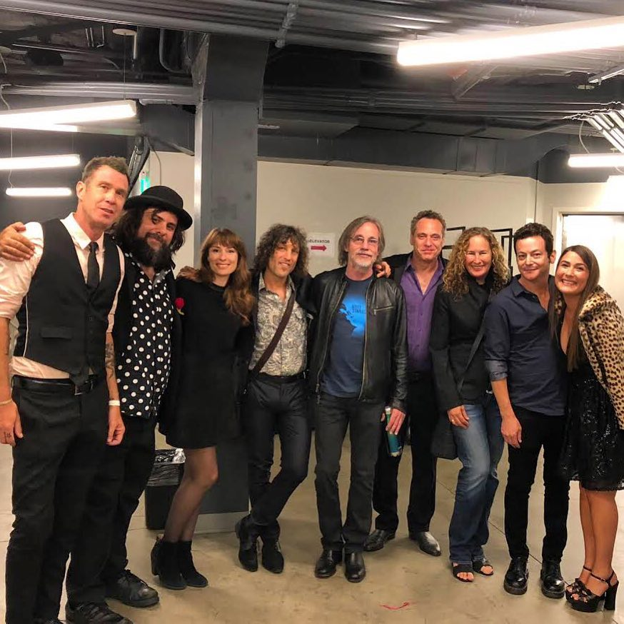 Echo in the Canyon band with Jackson Browne