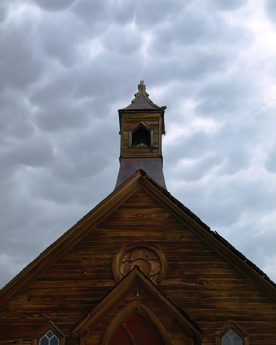 CHURCH STEEPLE 2, Bodie Ghost Town, California.