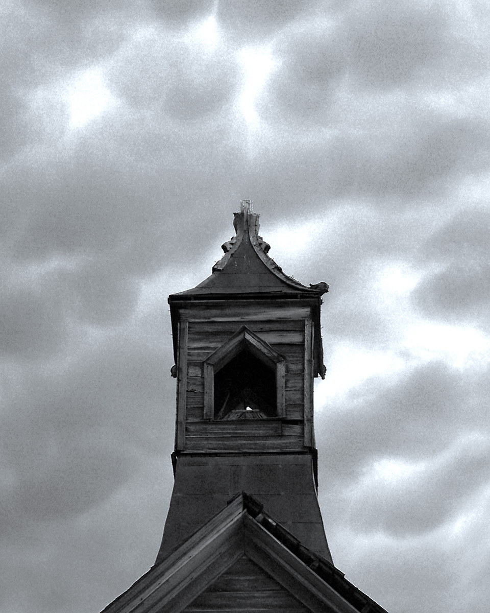 CHURCH STEEPLE 3, Bodie Ghost Town, California.