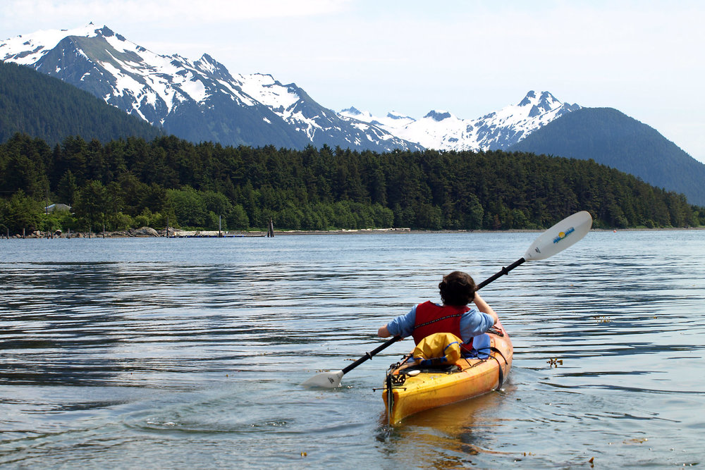 SUMMER KAYAKING IN ALASKA