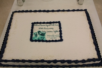 Cake at annual meeting