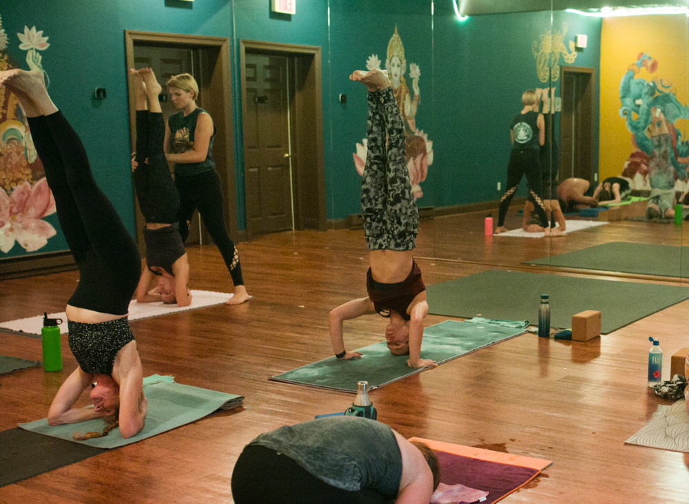 Peaceful Warrior Yoga Center In Studio Classes