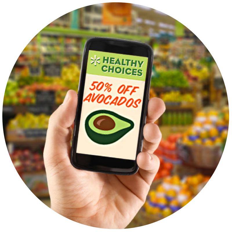 TECHNOLOGY-ENABLED FOOD EXPERIENCES - Consumers are using technology that helps them find healthy food when and where they want it. Enable industry partners to grow, source and deliver healthy and authentic food.