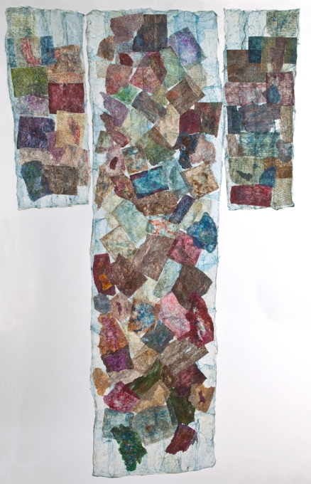 "Boro Kimono - 37""x66"""