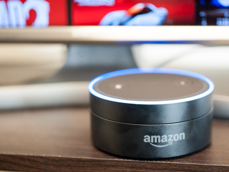The Alexa Echo Dot is the ultimate stocking stuffer