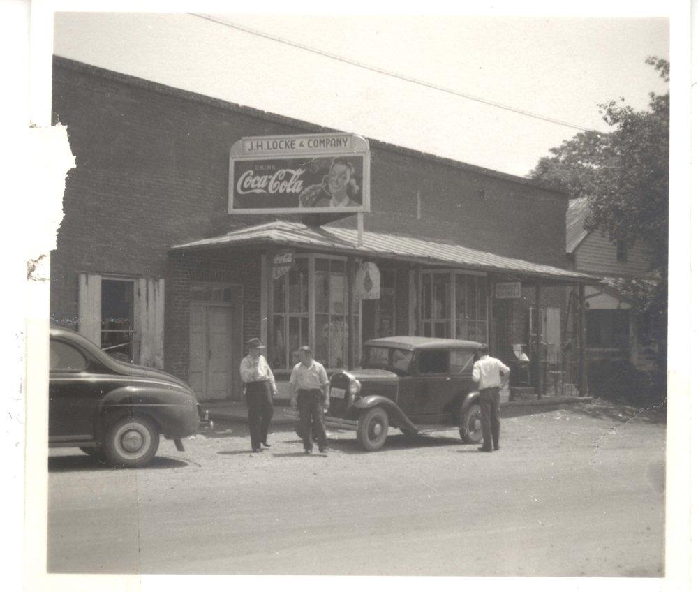 J.H. Locke & Co, circa 1930s Picture courtesy of Philip Hunsicker