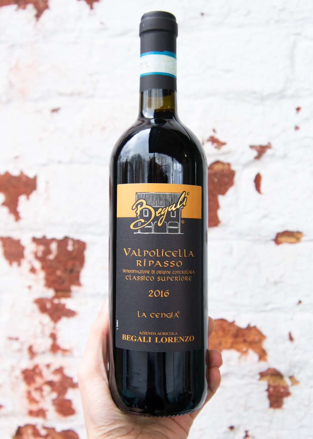 """Begali Valpolicella Ripasso 2016 - Retail: $17.95 