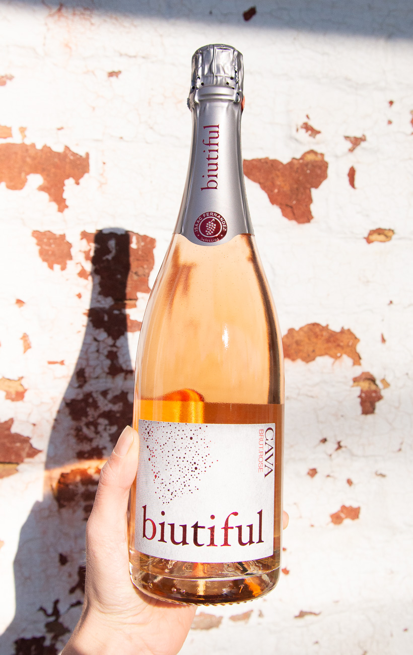 Biutiful Cava Brut Rose NV - Retail: $13.95 | Sale: $12.55This rose Cava is easily drinkable, food-friendly, and very affordable. Herbaceous notes welcome you into the glass. The palate is off-day with a silky finish that's creamy and boasts wild-strawberry notes throughout. This Cava will definitely add a nice touch to your Valentine's Day dinner, and don't hesitate to grab another bottle while you're at it.100% Garnacha90 points, Vinous MediaSustainable