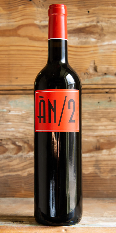 Anima Negra ÀN/2 2016 - Origin: SpainRetail: $27.95 | Sale: $25.15ÀN/2 is a perfect introduction to the wines of Mallorca. This unique red is made from old vine Callet, Mantonegre-Fogoneu and Syrah fermented in a combination of stainless steel and concrete—macerated only briefly to retain the freshness and flavors of the fully ripe fruit. Aged for just over one year in a combination of 80% French barriques and 20% American oak. Deep ruby-red in color, AN/2 has complex aromas of savory spices, wild raspberries, dark cherry fruit and a hint of violets and smokiness. On the palate the wine is silky and elegant with intense flavors of mature fruit. Well-balanced with a long finish.65% Callet, 20% Mantonegre-Fogoneu, 15% Syrah.92 Points Wine Spectator.