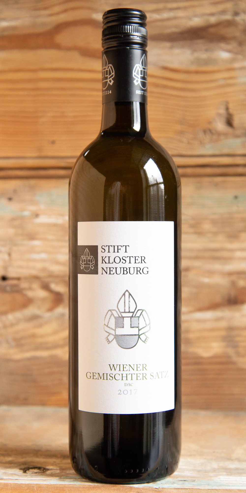 Stift Klosterneuberg Weiner Germischischter Satz 2017 - Origin: AustriaRetail: $22.95 | Sale $20.65Since its foundation in 1114, Klosterneuburg monastery has been growing wine and therefore is the oldest wine estate of Austria. This Viennese field blend is youthful and fresh. Notes of green apple, flowers, and stone-fruit welcome you into the glass. The fresh, brightly-toned palate sings with zesty citrus and juicy yellow pear. A phenolic, spicy edge gives it depth and appeal.Grüner Veltliner | Chardonnay | Weissburgunder (Pinot blanc)