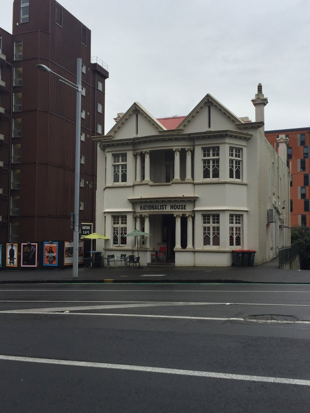 The Rationalist House in Auckland, just one of the member orgs in Humanists International