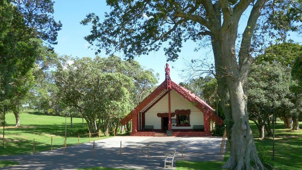The Marae at Waitangi, Northland.