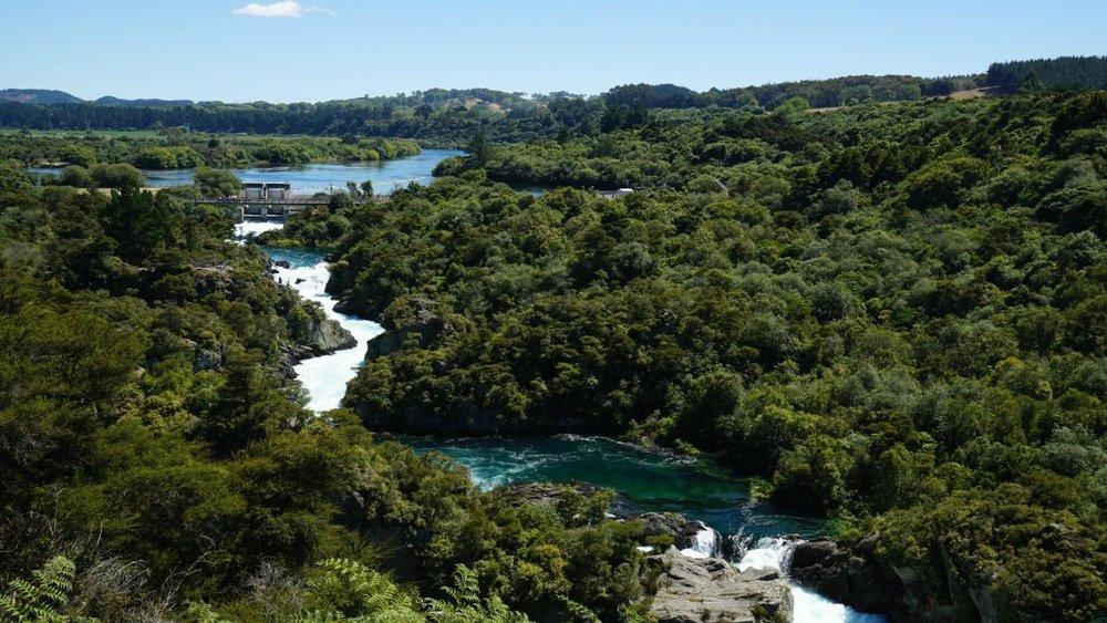 Aratiatia Dam Release, Taupo, Waikato.