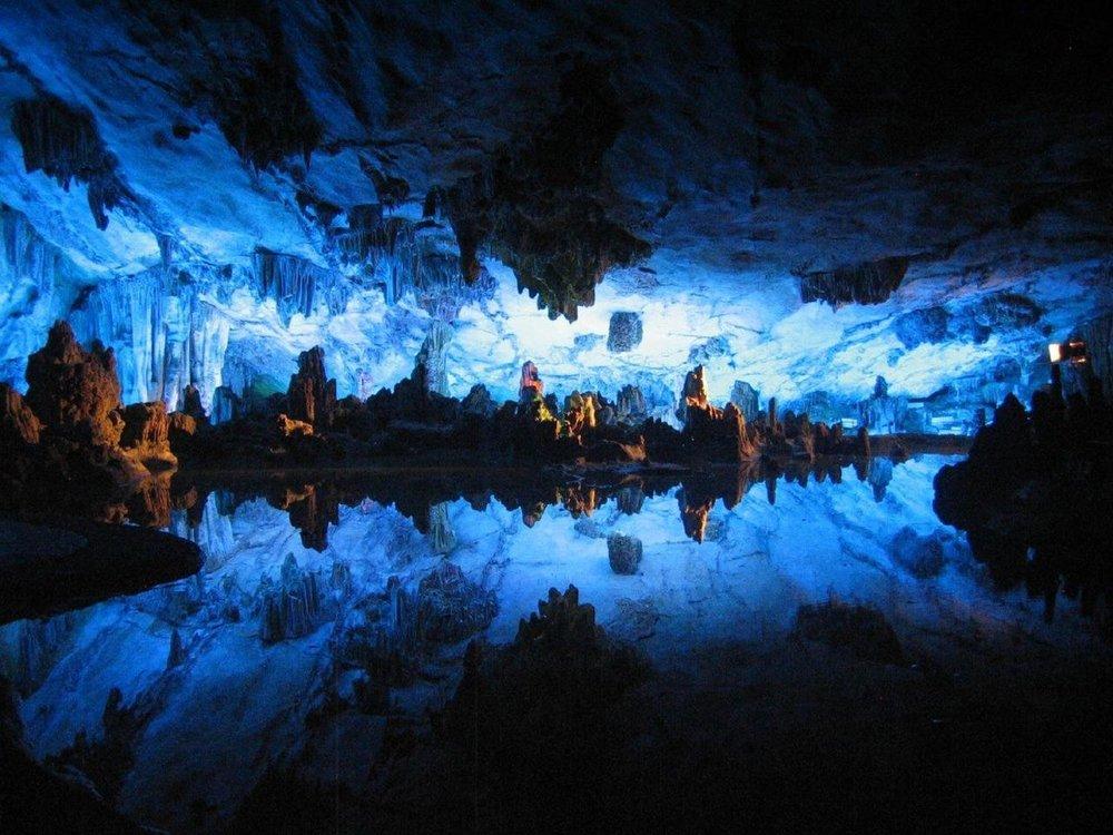 Waitomo Glow Worm Caves, Waikato.