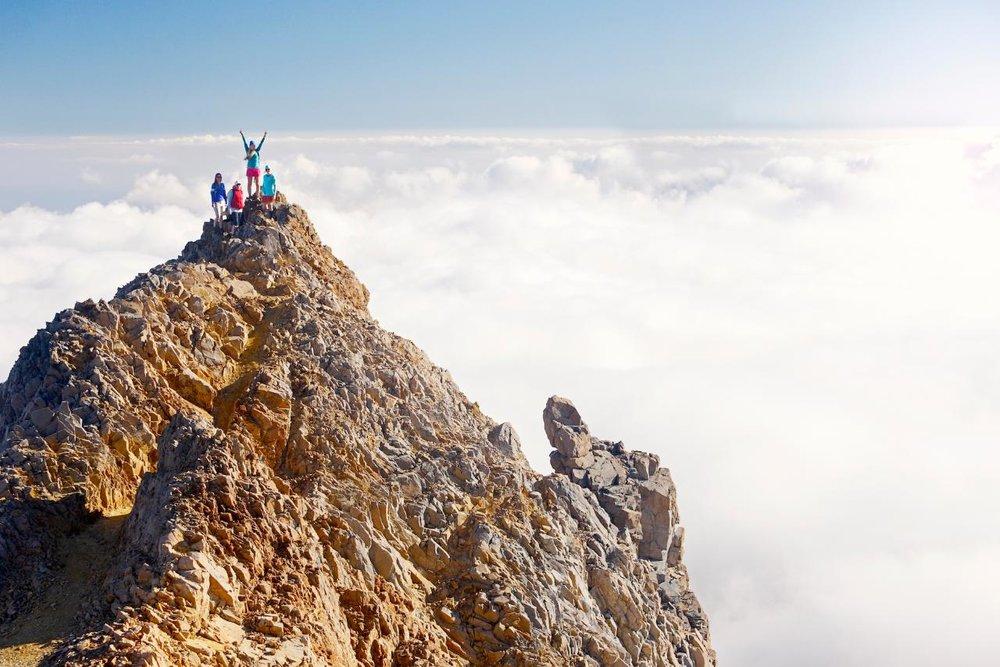 Climb the highest mountain in the North Island – Mt Ruapehu, Tongariro National Park, Waikato.