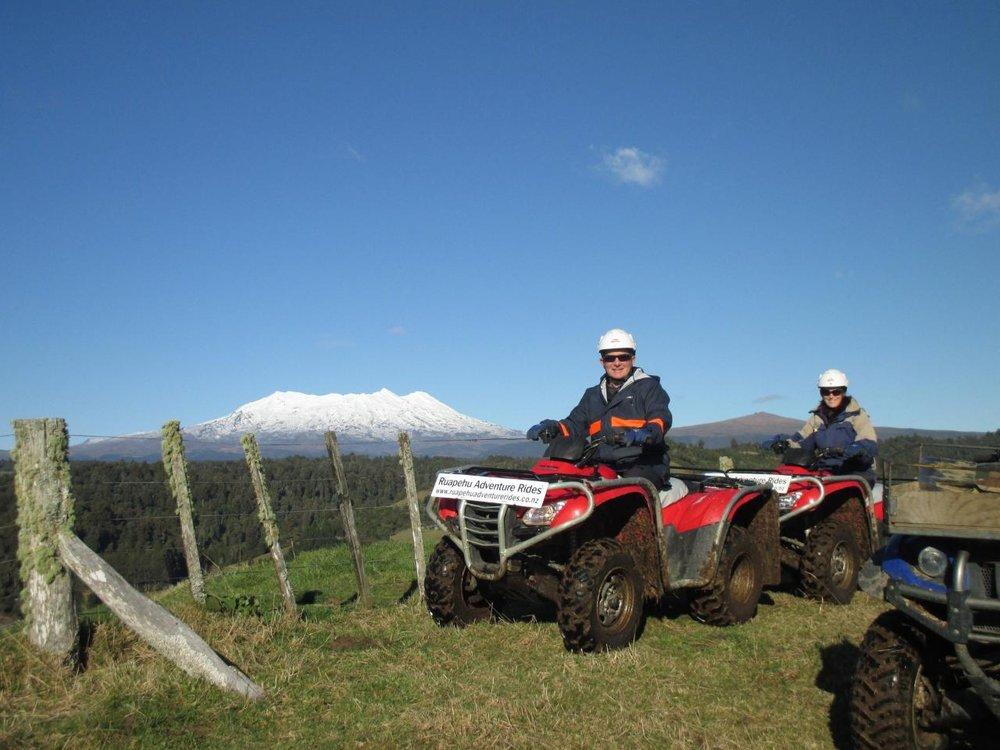 Ruapehu Adventure Rides – Mt Ruapehu, Tongariro National Park, Waikato.