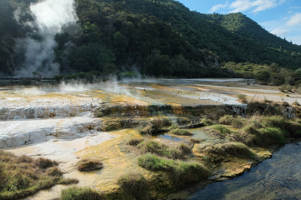 Waimangu Volcanic Valley Hike, Rotorua, Bay of Plenty.