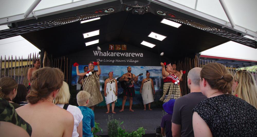 Whakarewarewa Living Maori Village, Rotorua, Bay of Plenty.