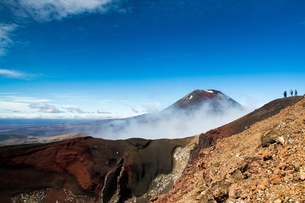 Mt Tongariro Alpine Crossing