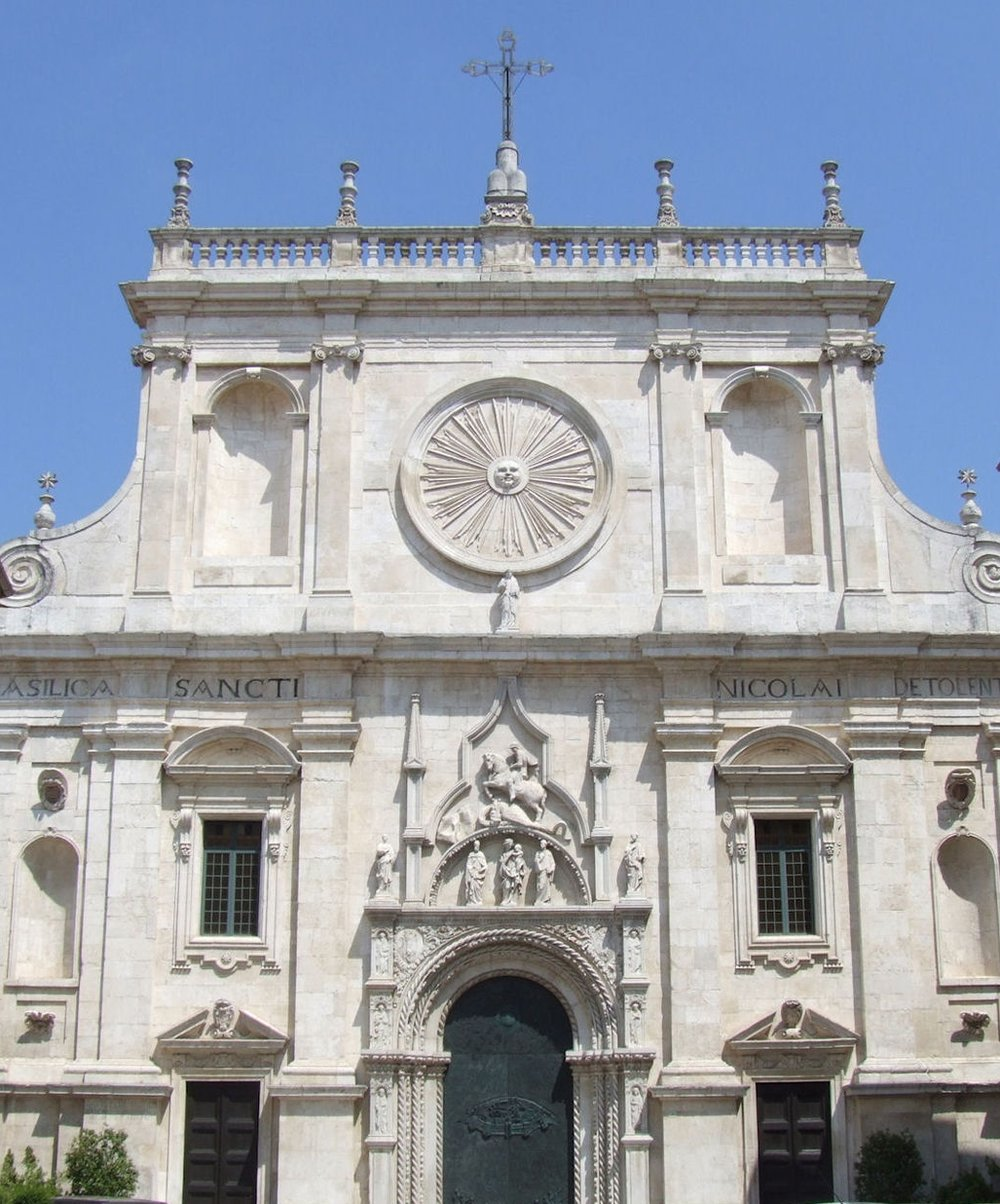 Basilica di San Nicola da Tolentino - Tolentino, Italy