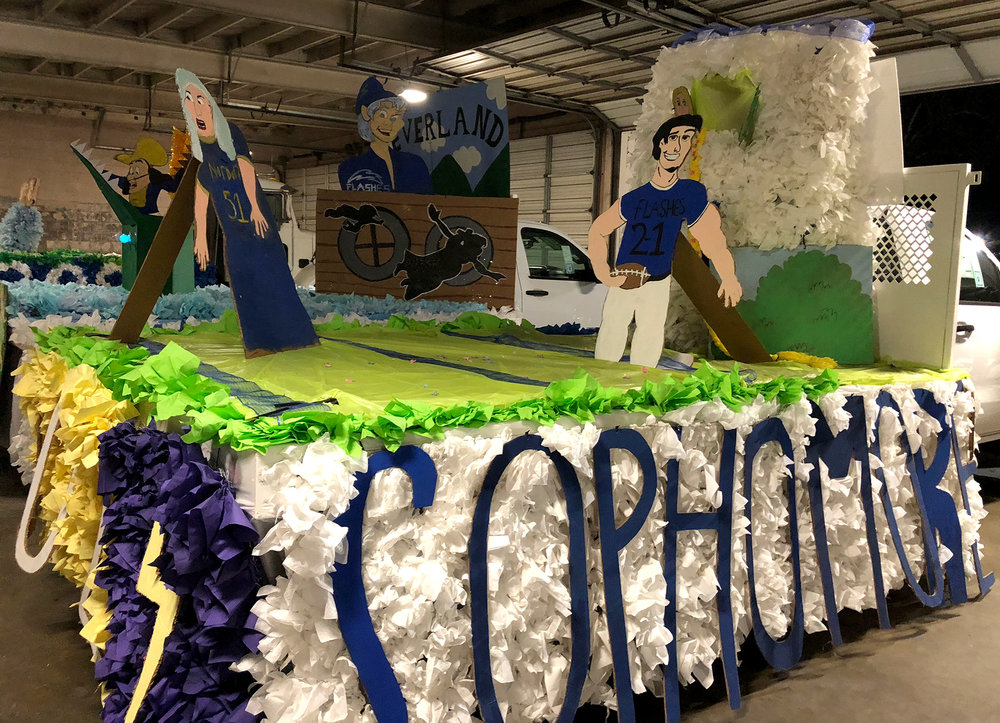 Sophomore float