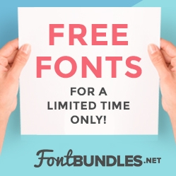 Free Fonts for a limited time only! Courtesy of FontBundles.net!