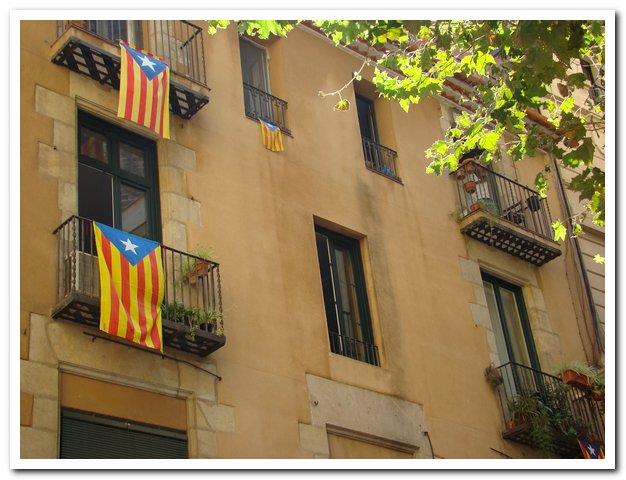 Drapeaux catalans : Vilanova i la Geltru, Marielle Poliquin (2013)