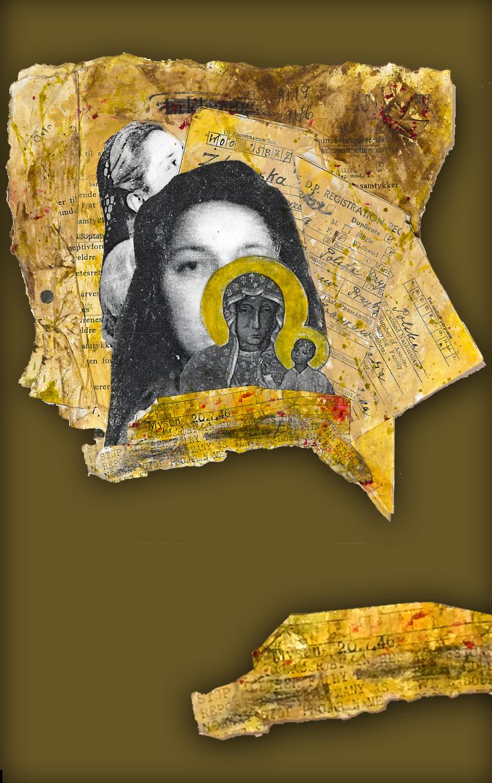 Natalia Z. , collage de Jacinthe Garand (2018)
