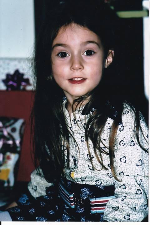 La petite Olga. Photo Denise Claing (1975)