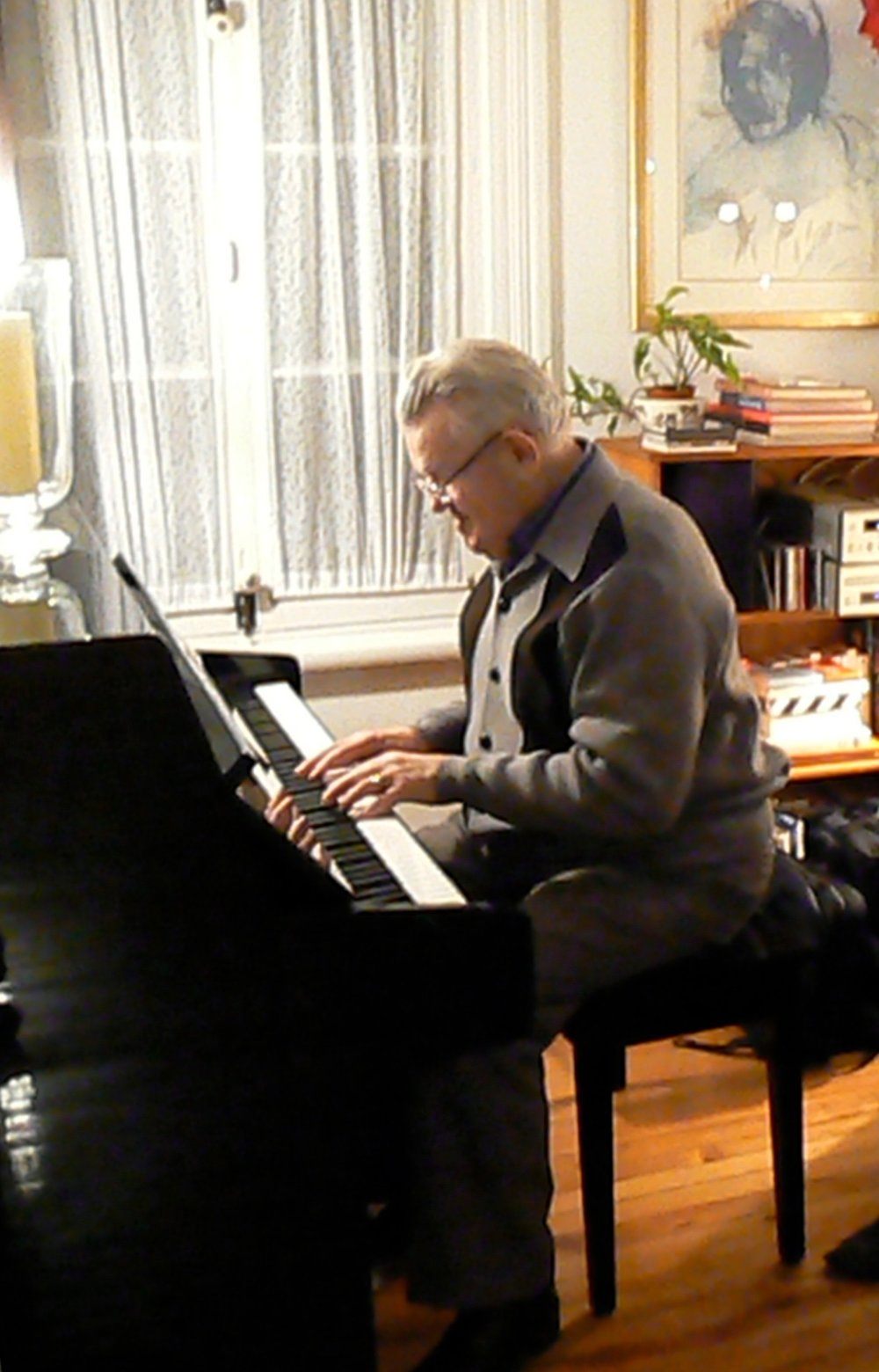 Papa au piano, Saint-Damien (2008)