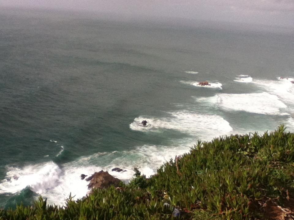 Ce n'est pas la côte d'Irlande. Cabo da Roca, mars 2013