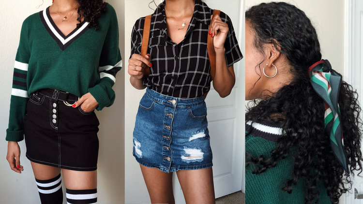how to style outfits for school asia jackson