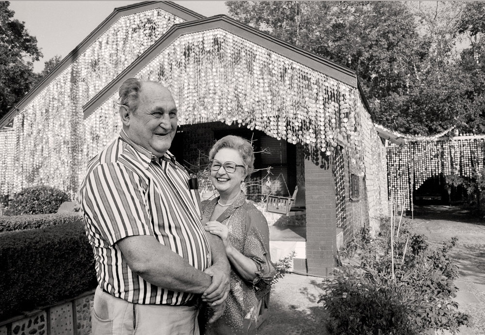John and Mary Milkovisch - John Milkovisch created the Beer Can House, now an art institution in Houston.