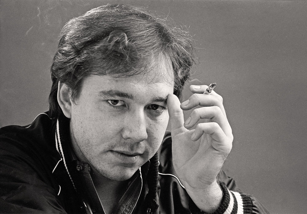 Comedian Bill Hicks 1985, Historic Portrait