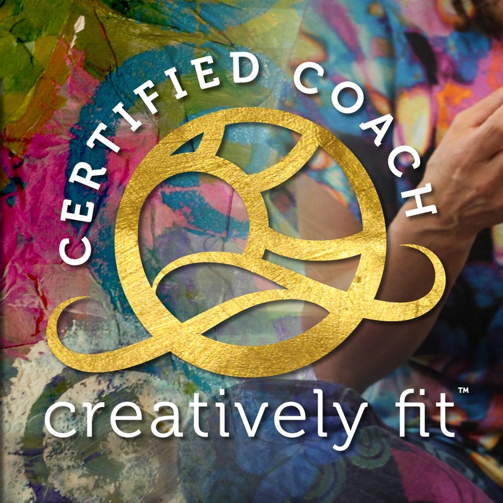 I am a proud Certified Creatively Fit Coach, a program developed by artist, author, and mentor Whitney Freya. This program was a game changer for me! While participating in the program, I grew quantum leaps in my personal, artistic, professional and spiritual life!  My online presence exploded and opportunities opened up for me to do more of what I love - teach others how to use painting as meditation and energy work!  This wonderful program inspires one to expand into their fullest personal expression and then share the infinite possibilities with others.  I don't endorse many programs, but this program changed by life. I'm a proud alum, and I want to share it with you! Click the photo above to check it out!