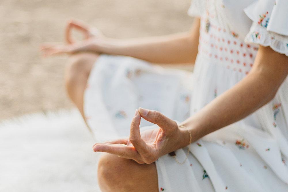 Yin yoga and meditation in Santa Barbara