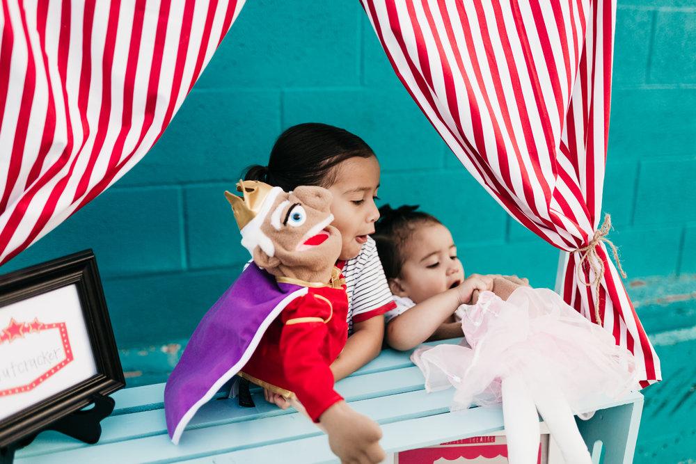 Photo by:  @baylieranaephoto  Puppets also work children's fine motor skills and dexterity!