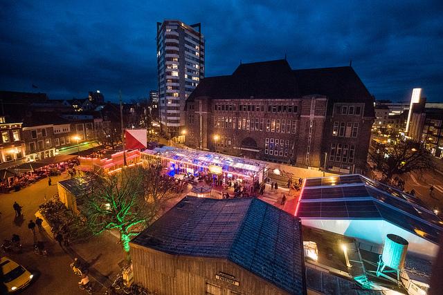 Festivalcentrum de Neude. Fotografie: Jelmer de Haas.