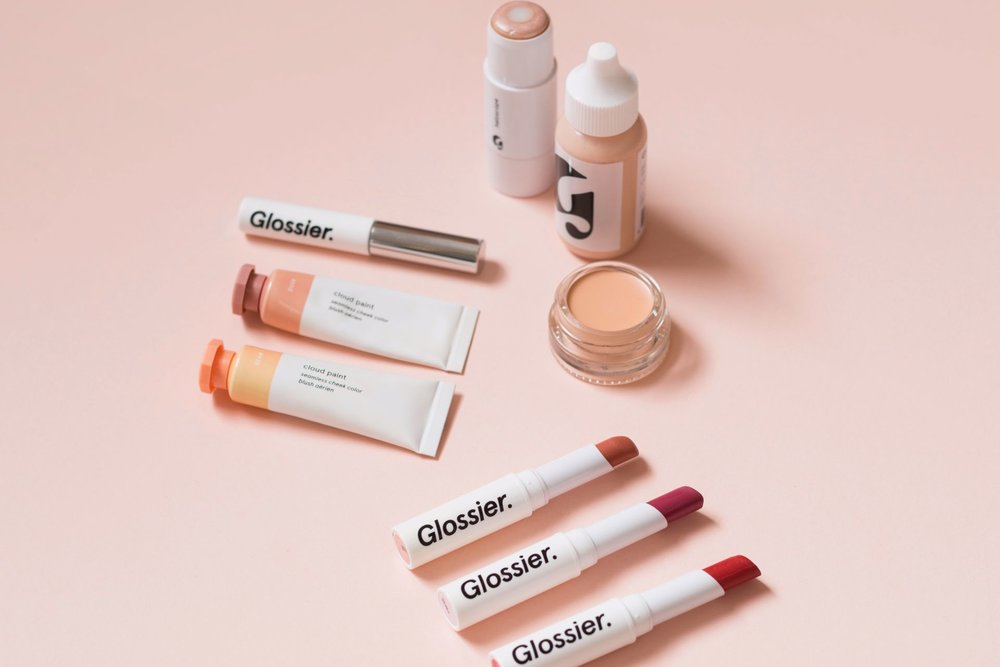 glossier - CEO and founder Emily Weiss grew this beauty brand through brilliant social mediamarketing, securing $34 million in VC funding