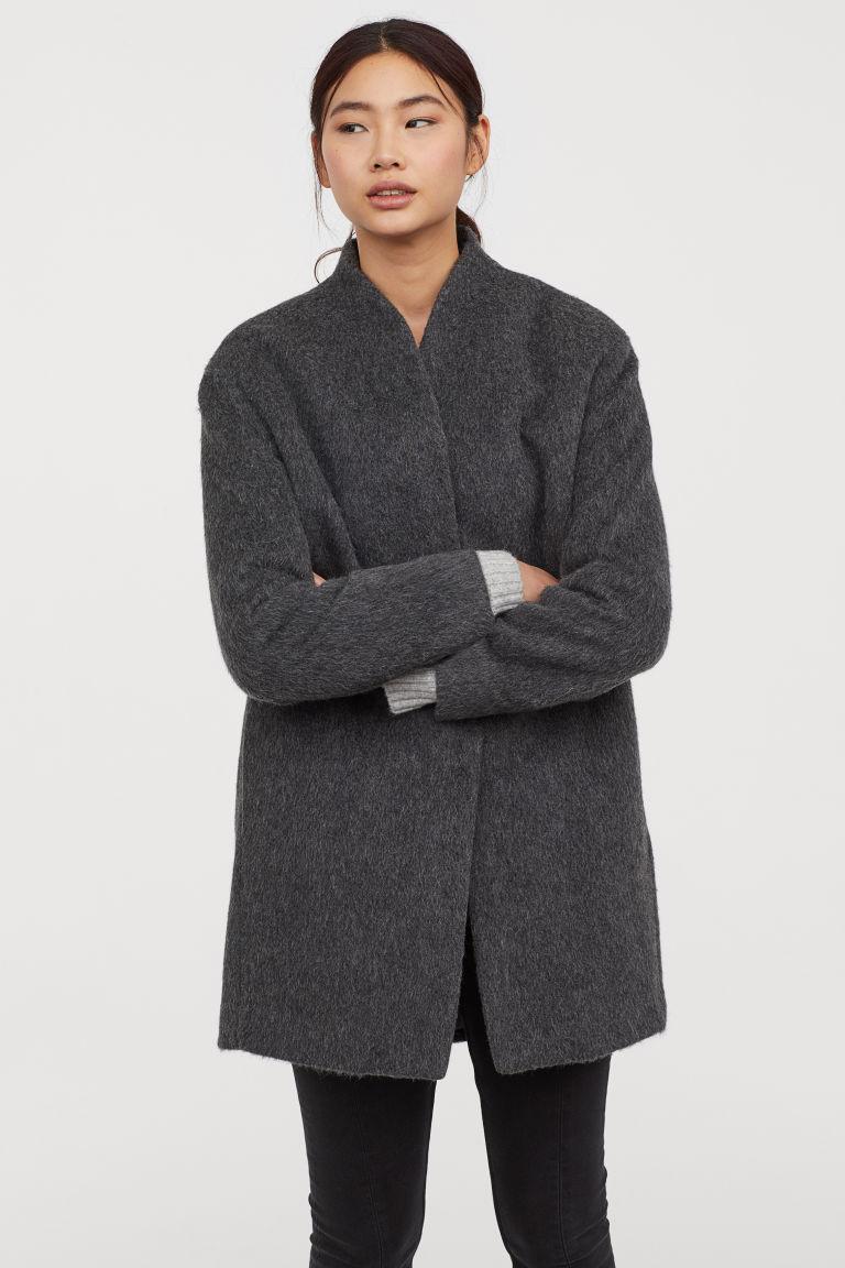 Short Wool-blend Coat, $102.99