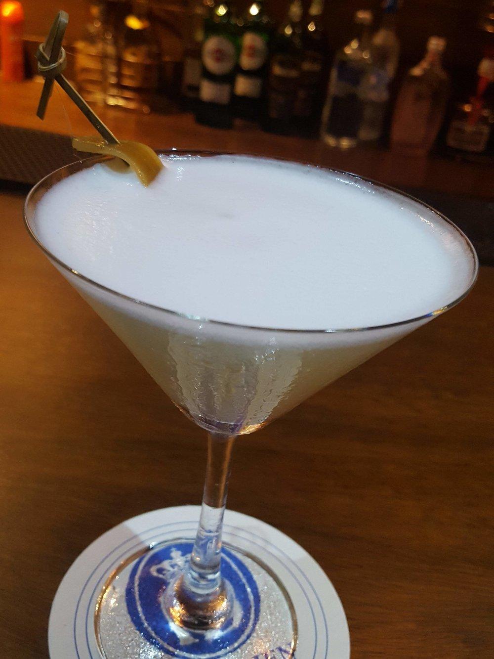 White Turmeric Martini