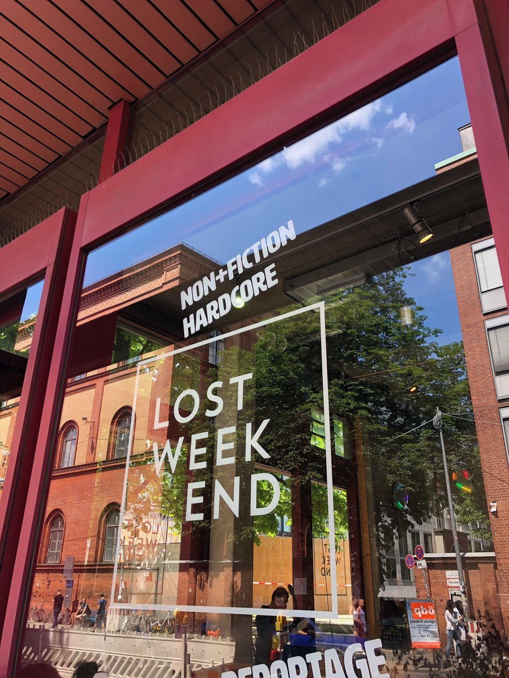 Lost Weekend bookstore and coffee shop