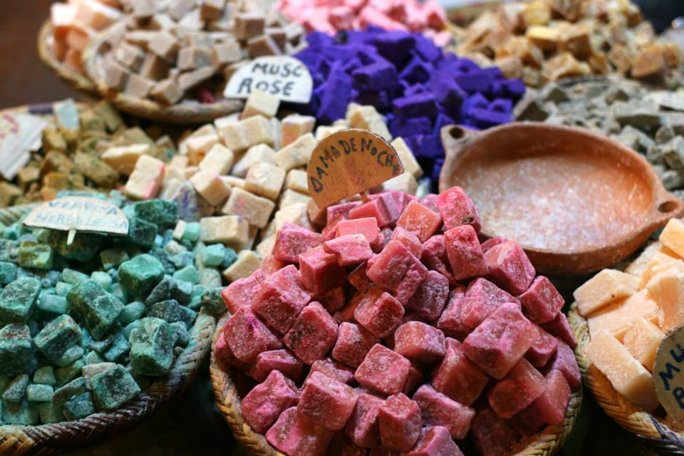 Looks like Lush? This is natural perfume bricks (I love the natural amber!)